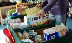 Food banks are struggling as the number of volunteers has fallen during the virus outbreak.