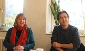 Susanne Jallow and Peter Erben.