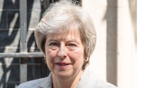 The prime minister, Theresa May