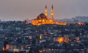 fatih moque istanbul