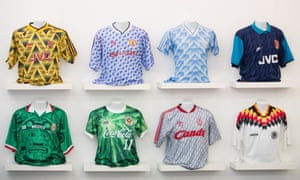 9e4a37f9031 More than a shirt: how classic football kits became works of art ...