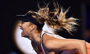 Maria Sharapova has been troubled by her left forearm since the start of the year.