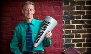 The gay rights activist Peter Tatchell