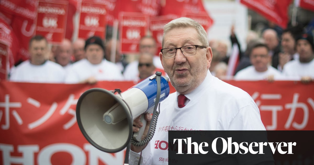 Always Red by Len McCluskey review – bluster of a righteous brother