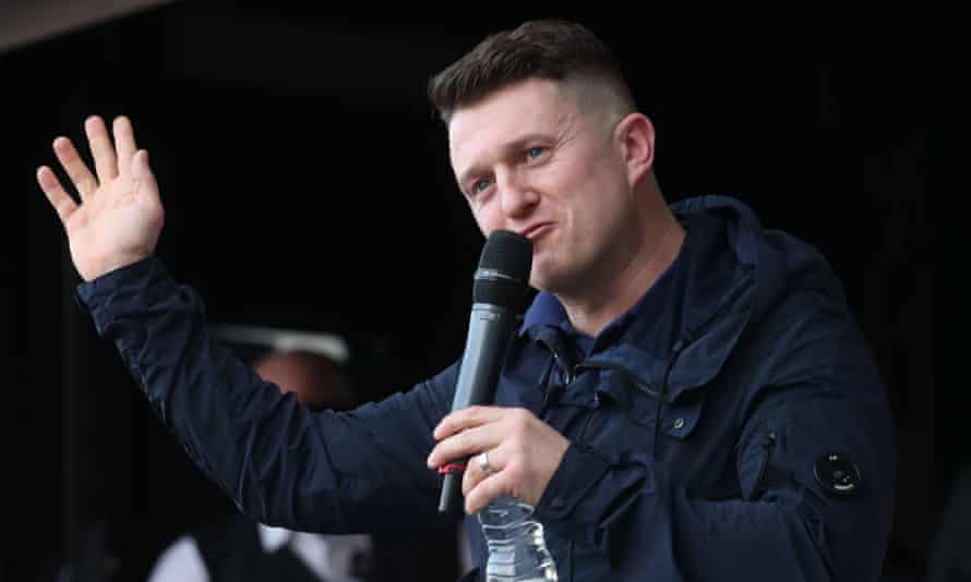 Tommy Robinson, whose real name is Stephen Yaxley-Lennon, has been criticised by the NUJ for intimidating staff at the BBC and the Panorama team.