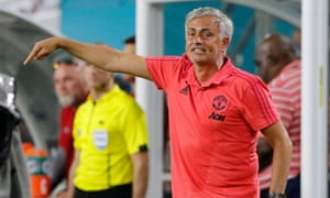 José Mourinho's frustration has been visible throughout Manchester United's pre-season in the Premier League.