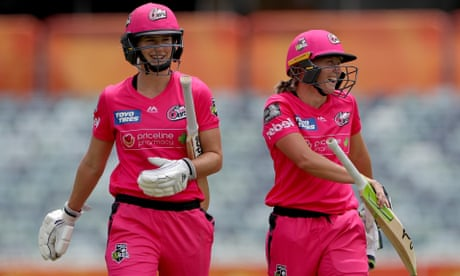 Sportwatch: Sydney Sixers pile on the runs, Melbourne City top the A-League, and more