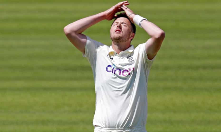 Ollie Robinson impressed on his Test debut for England but his performance was subsequently overshadowed.
