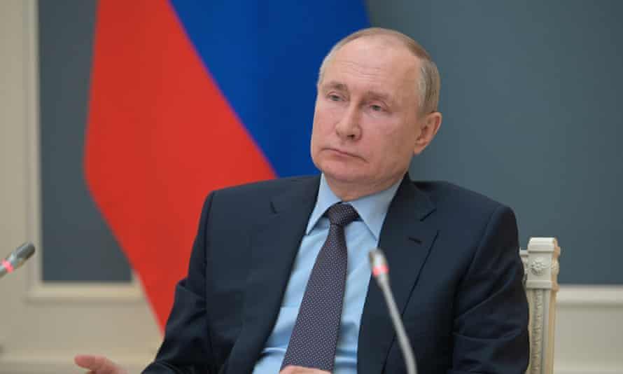 Vladimir Putin at the Kremlin on Wednesday.