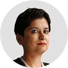 Shami Chakrabarti. Circular panelist byline. DO NOT USE FOR ANY OTHER PURPOSE!