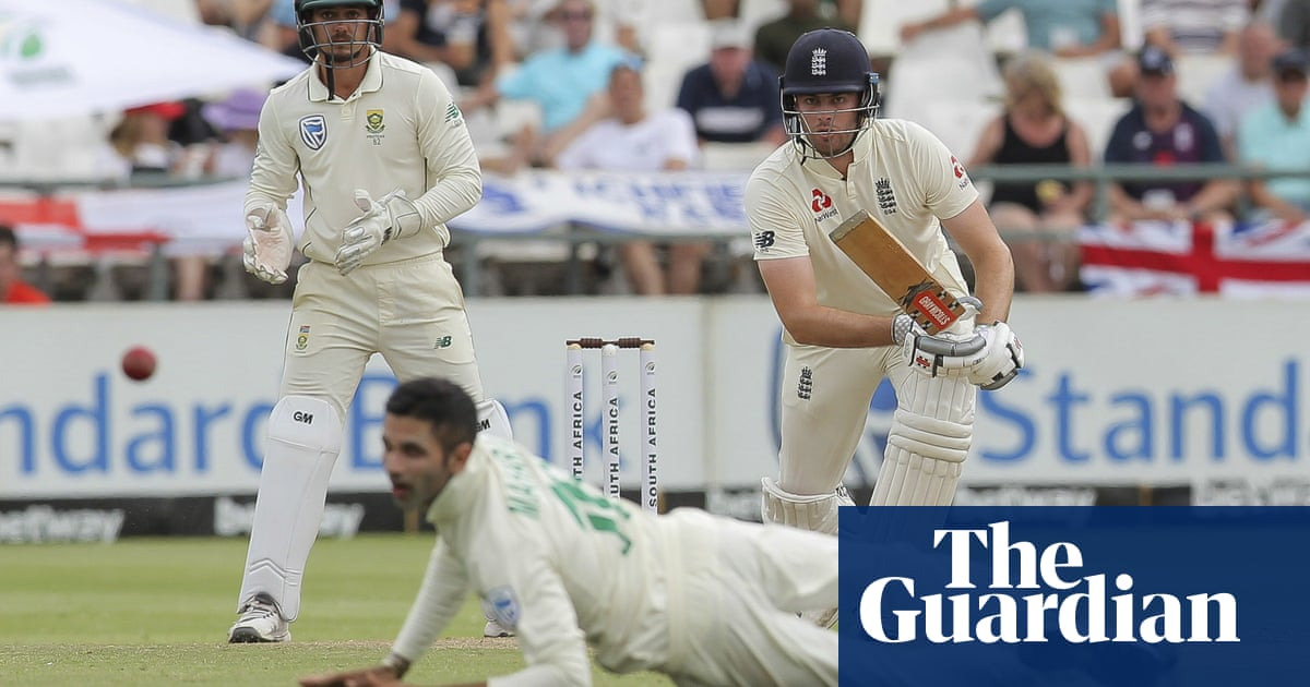 Dominic Sibley nears century to put England in control against South Africa