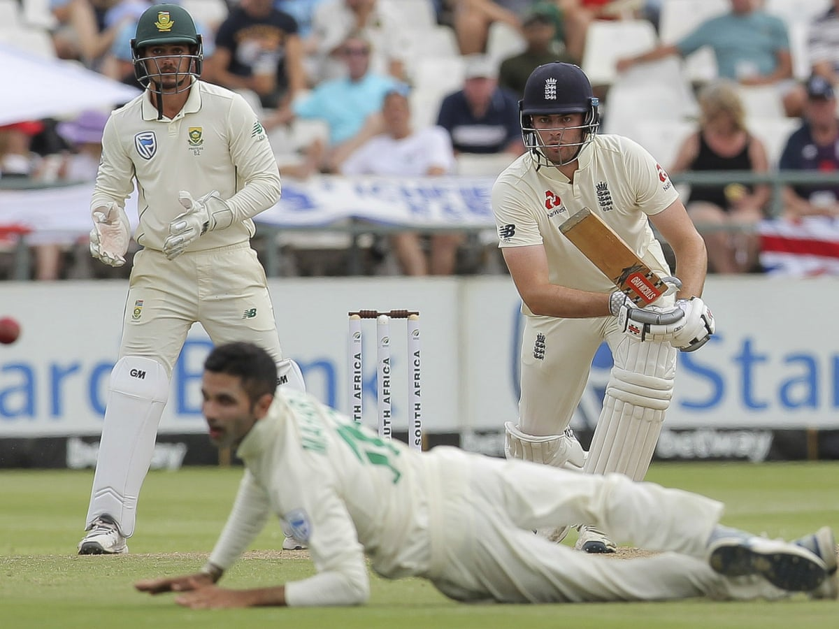 Dominic Sibley nears century to put England in control against South Africa  | Sport | The Guardian