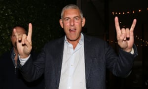 Lyor Cohen at Puff Daddy's birthday party