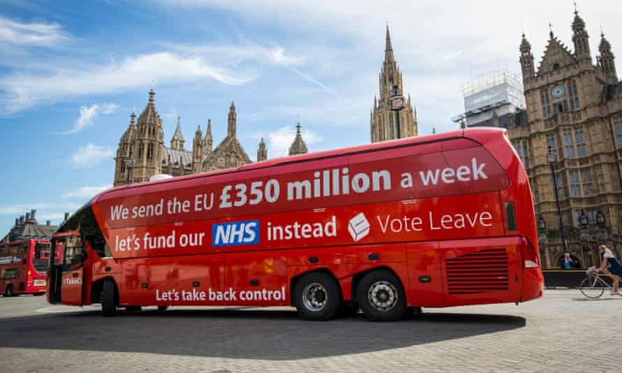 'The claim that money we used to send to the EU will be freed up for other things has been comprehensively debunked since it appeared on the side of Boris Johnson's infamous bus'