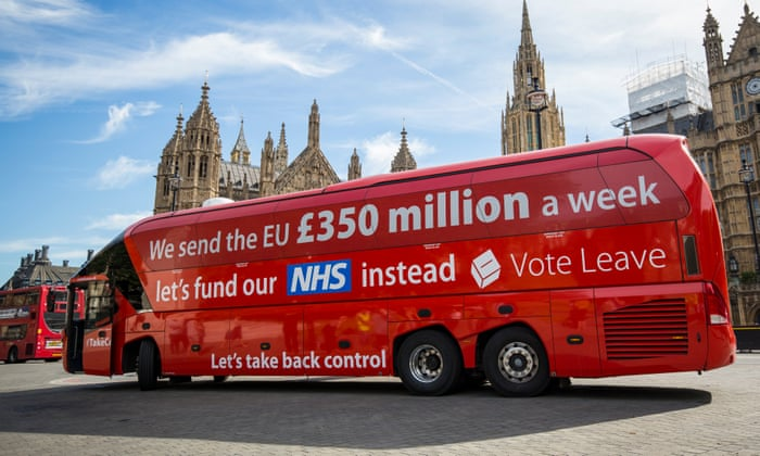 Boris Johnson: we will still claw back £350m a week after Brexit   Brexit    The Guardian