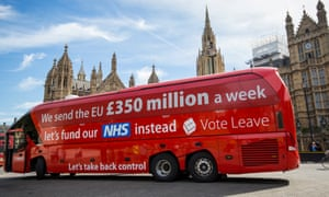 Dominic Cummings, as director of Vote Leave, was the man behind the £350m-for-the-NHS slogan on the side of a bus.