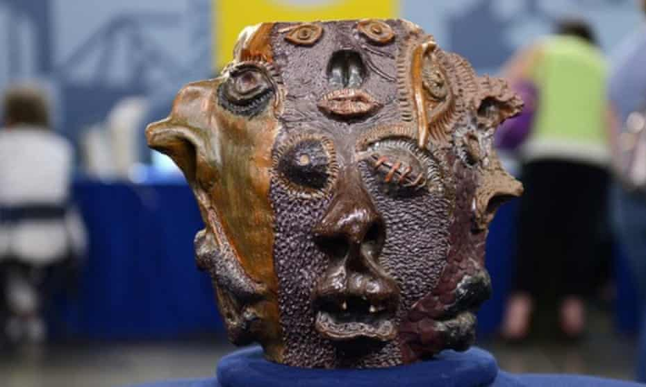 This 'grotesque face jug' was valued by an expert on the US version of Antiques Roadshow at US$50,000. It turned out to be the work of a high school student.