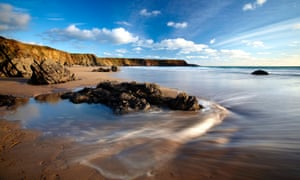 Marloes Sands in Pembrokeshire, Wales