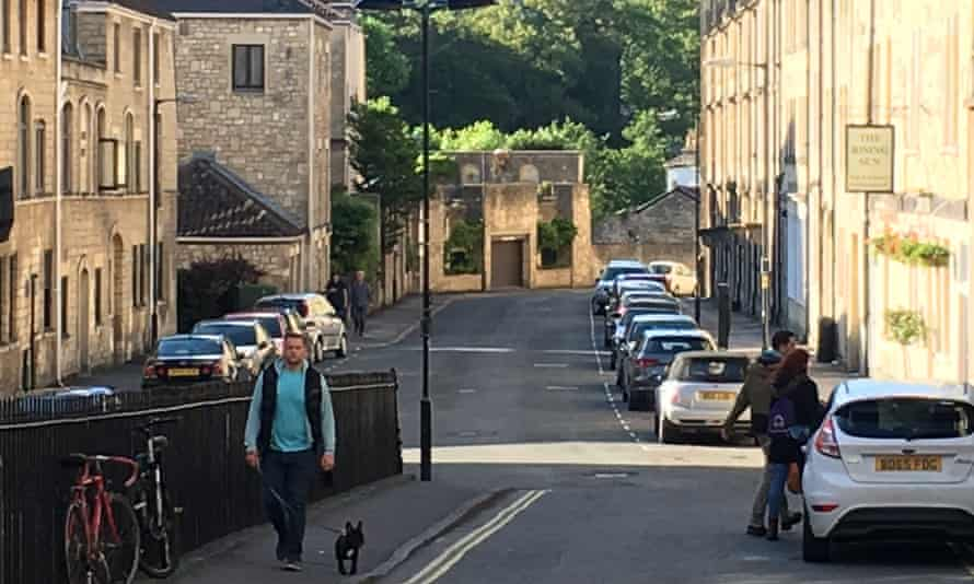 An image of Bath from the poetry tour.
