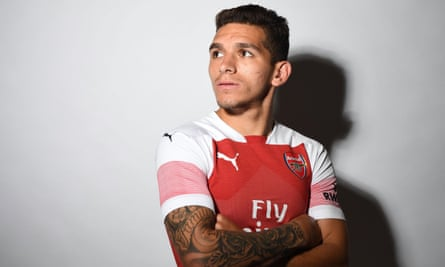 Lucas Torreira is unveiled as an Arsenal player after completing his £26.5m move from Sampdoria.