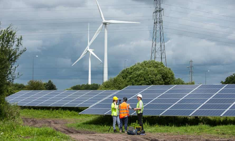 The solar farm at Lawrence Weston in Bristol was one of the initiatives highlighted by the report
