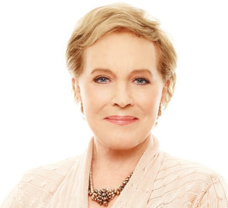 Head shot of Julie Andrews