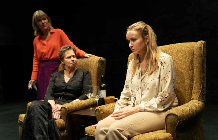 Kelly McAndrew, Randy Danson and Emily Cass McDonnell in Lucas Hnath's The Thin Place.