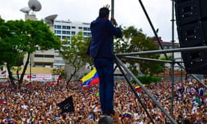 Juan Guaido, whose Venezuelan rebellion fizzled.