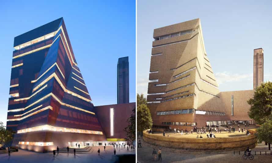 Tate Modern's extension, as it will look come summer 2016