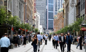 Part of the light rail route in George Street, Sydney. The NSW government agreed to pay subcontractors an extra $576m in a legal settlement