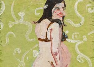 Chantal Joffe's 2004 self-portrait