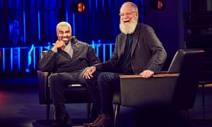 Kanye West with David Letterman in My Next Guest Needs No Introduction.