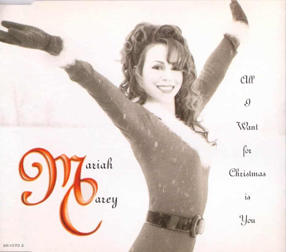 Mariah Carey - All I want for Christmas is you - Single cover