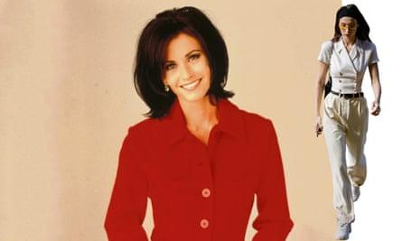 Best of Friends: Monica Geller and Bella Hadid.