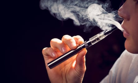 An electronic cigarette.