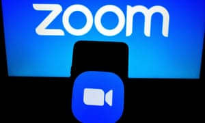 The ZOOM app on a mobile device.