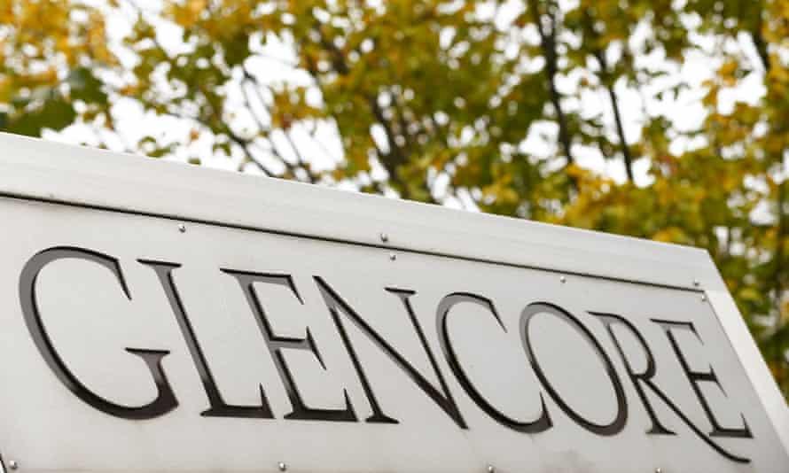 Glencore sign