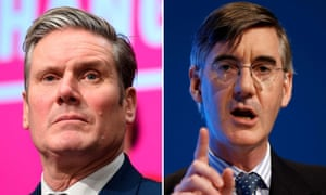 Neither Keir Starmer nor Jacob Rees-Mogg have featured prominently in the election campaign.
