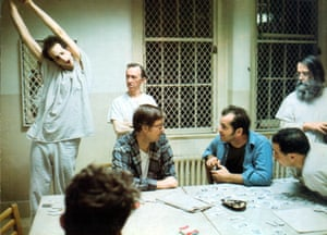 'A classic story that has an appeal beyond the traditional theatre audience' … a scene from One Flew Over the Cuckoo's Nest, directed by Milos Forman.