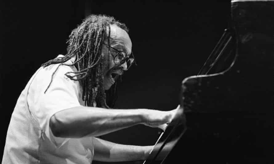 Cecil Taylor performing in Amsterdam in 1988.