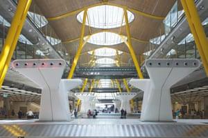 Adolfo Suárez Madrid–Barajas airport, Madrid.