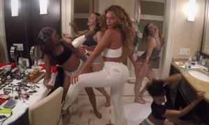 Makeup, hairdryer, jeans … Beyoncé's 711.