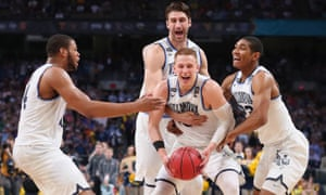 Donte DiVincenzo's 31 points earned him the NCAA Tournament's Most Outstanding Player award