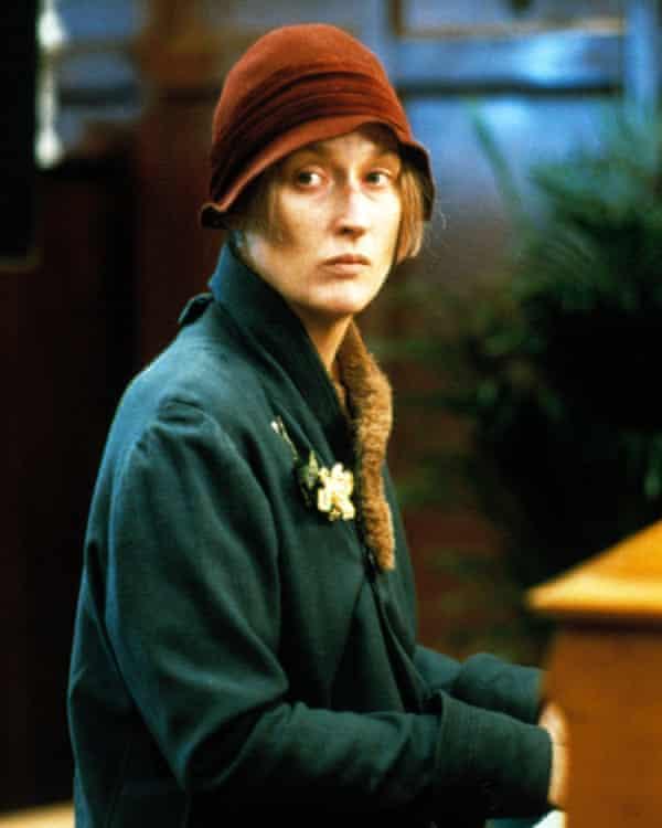 Meryl Streep in Ironweed, 1987.