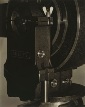 Akeley Camera with Butterfly Nut, New York, 1922-1923