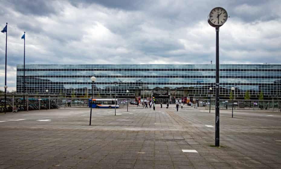 Milton Keynes Central railway station.