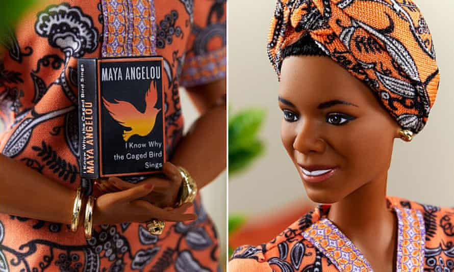 The Maya Angelou doll, created for Barbie's Inspiring Women series.