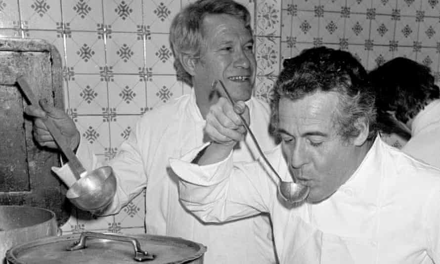 Henri Gault (left) and Christian Millau, co-founders of the nouvelle cuisine movement.