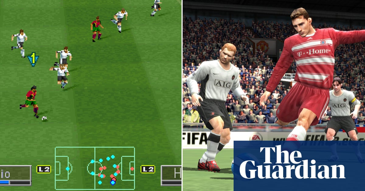 Fifa v PES: the history of gaming's greatest rivalry | Games | The Guardian thumbnail