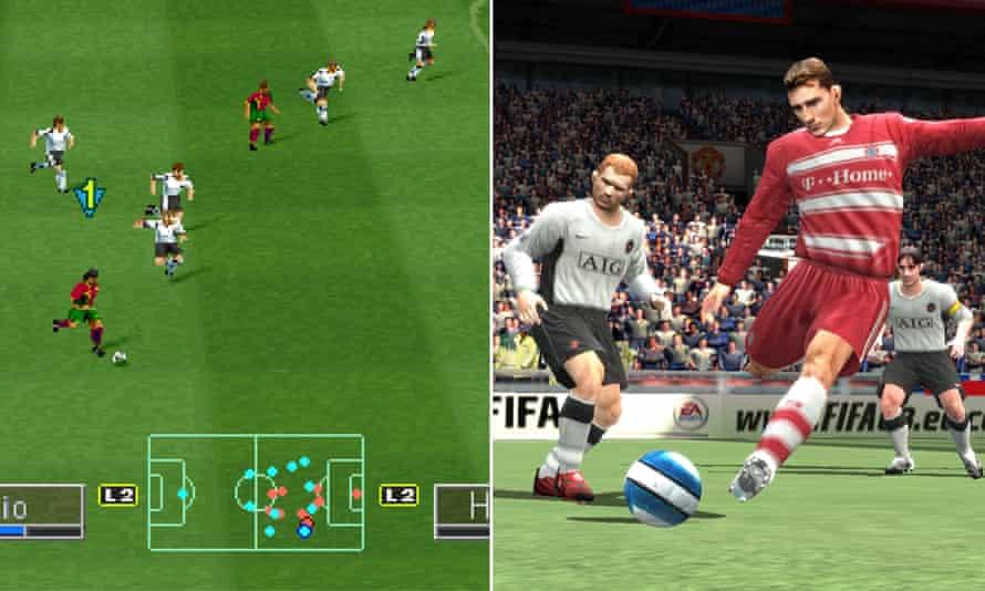 International Superstar Soccer Pro and Fifa 08